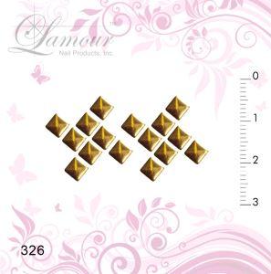 Chess Board _ Lamour 327 - 3D Nail Art Serial # 300 - Lamour